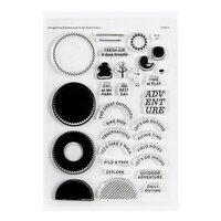 Studio Calico - Clear Photopolymer Stamps - Outdoor Adventures