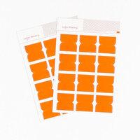 Studio Calico - Color Theory - Tab Stickers - Orange County