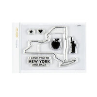 Studio Calico - Clear Photopolymer Stamps - I Love New York