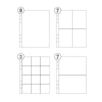 Studio Calico - 6 x 8 Multipack Page Protector - 24 Pack