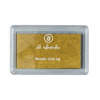 Ali Edwards - Crafter's Ink Pad - Metallic Gold