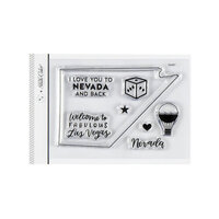 Studio Calico - Clear Photopolymer Stamps - I Love Nevada