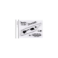 Studio Calico - Clear Photopolymer Stamps - I Love Tennessee