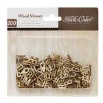 American Crafts - Studio Calico - Darling Dear Collection - Wood Veneer Pieces - Alphabet