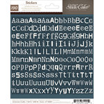 American Crafts - Studio Calico - Darling Dear Collection - Cardstock Stickers - Tiny Alphabet - Navy