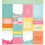 American Crafts - Studio Calico - Sundrifter Collection - 12 x 12 Double Sided Paper - Beautiful