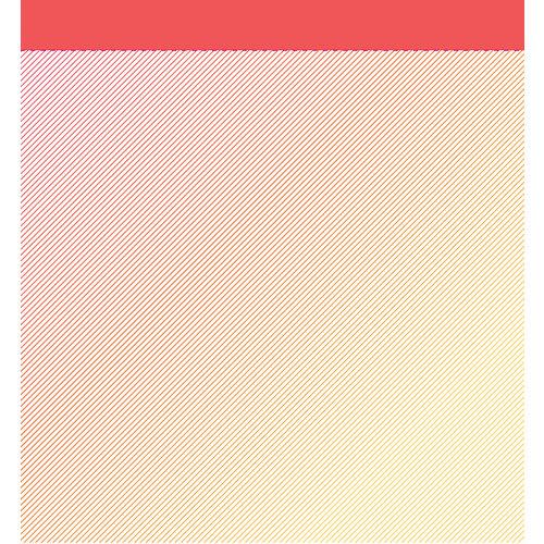 American Crafts - Studio Calico - Sundrifter Collection - 12 x 12 Vellum Paper - Sunbeam