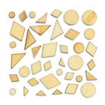 American Crafts - Studio Calico - Sundrifter Collection - Wood Veneer Pieces - Shapes