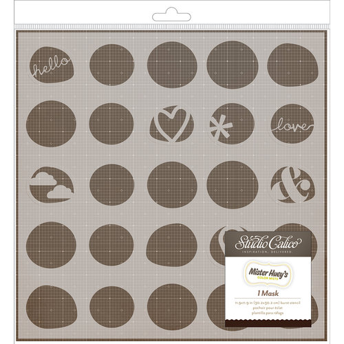 Studio Calico - Sundrifter Collection - Stencils 8 x 8 Mask - 2 Step Stencil