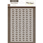 American Crafts - Studio Calico - Sundrifter Collection - Stencils Mask - Triangles