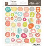 American Crafts - Studio Calico - Sundrifter Collection - Cardstock Stickers