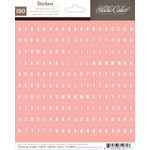 Studio Calico - Sundrifter Collection - Cardstock Stickers - Tiny Alphabet - Pink