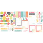 Studio Calico - Sundrifter Collection - Die Cut Cardstock Shapes