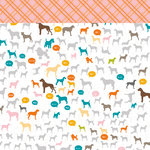 American Crafts - Studio Calico - Here and There Collection - 12 x 12 Double Sided Paper - Charlotte