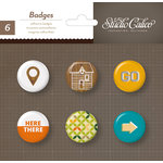 American Crafts - Studio Calico - Here and There Collection - Flair - Stickers