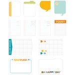 American Crafts - Studio Calico - Here and There Collection - Journal Cards