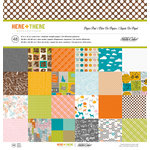 American Crafts - Studio Calico - Here and There Collection - 12 x 12 Paper Pad