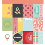 American Crafts - Studio Calico - Snippets Collection - 12 x 12 Double Sided Paper - Me Oh My