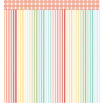 American Crafts - Studio Calico - Snippets Collection - 12 x 12 Double Sided Paper - Wow