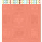 American Crafts - Studio Calico - Snippets Collection - 12 x 12 Double Sided Paper - Hmmm