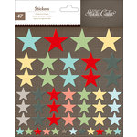 American Crafts - Studio Calico - Snippets Collection - Chipboard Stickers - Stars