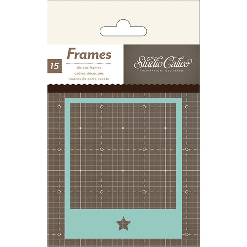 Studio Calico - Snippets Collection - Polaroid Frames - Cardstock