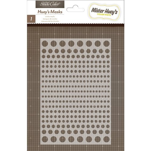 Studio Calico - Snippets Collection - Stencils Mask - Circles