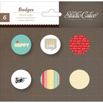 American Crafts - Studio Calico - Snippets Collection - Flair - Stickers