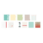 American Crafts - Studio Calico - Snippets Collection - Album Inserts