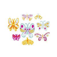 Studio Calico - Painted Wood Veneer Butterflies - On My Way