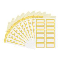 Studio Calico - Color Theory - Bulk Label Stickers - Lemon Zest