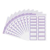 Studio Calico - Color Theory - Bulk Label Stickers - Lavender Soda