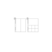 Studio Calico - 6 x 8 Page Protector Combo Pack