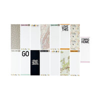Ali Edwards - 3 x 8 Insert Papers - Travel Story