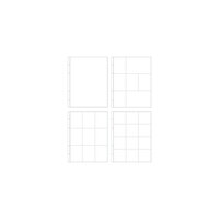 Studio Calico - 9 x 12 Multipack Page Protectors - 9 Pack