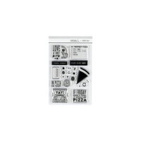Studio Calico - Clear Photopolymer Stamps - Pizza