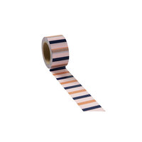 Studio Calico - Washi Tape - Coral and Navy Stripes
