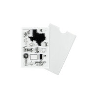 Studio Calico - Clear Photopolymer Stamps - Texas