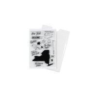 Studio Calico - Clear Photopolymer Stamps - New York