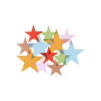 Studio Calico - Embellishments - Vellum Stars
