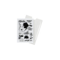 Studio Calico - Clear Photopolymer Stamps - Alaska