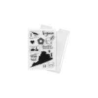Studio Calico - Clear Photopolymer Stamps - Virginia