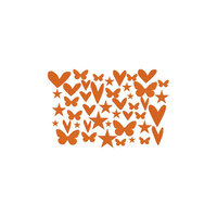 Kingston Crafts - Chipboard Shapes - Orange County