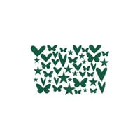 Kingston Crafts - Chipboard Shapes - Green