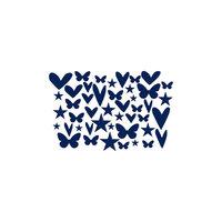 Kingston Crafts - Chipboard Shapes - Deja Blue
