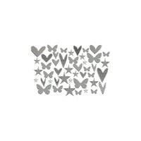 Kingston Crafts - Chipboard Shapes - Silver Foil