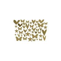 Kingston Crafts - Chipboard Shapes - Gold Foil