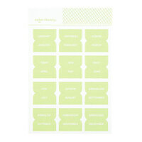 Studio Calico - Color Theory - Monthly Tab Stickers - Going Green