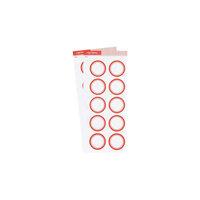 Studio Calico - Color Theory - Circle Label Sticker - Poppy