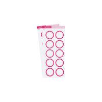Studio Calico - Color Theory - Circle Label Sticker - Flamingo